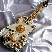 Подарки к праздникам ручной работы. Ярмарка Мастеров - ручная работа Гитара. Handmade.