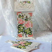 Для дома и интерьера handmade. Livemaster - original item Tea house with painted