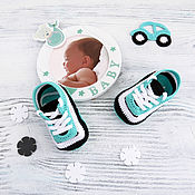 вязаные пинетки кроссовки пинетки кеды вязаные пинетки в подарок