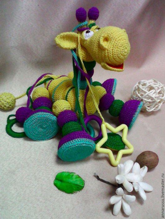 """Развивающие игрушки ручной работы. Ярмарка Мастеров - ручная работа. Купить Развивающая игрушка """"Лошарик"""". Handmade. Комбинированный, игрушка для детей"""