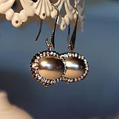 Украшения handmade. Livemaster - original item Necklace-pendant on a chain, bracelet and earrings pearl Majorca. Handmade.