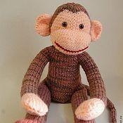 Куклы и игрушки ручной работы. Ярмарка Мастеров - ручная работа Вязаная обезьянка. Handmade.