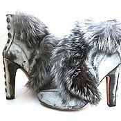 Обувь ручной работы. Ярмарка Мастеров - ручная работа Ботильоны Шабли. Handmade.