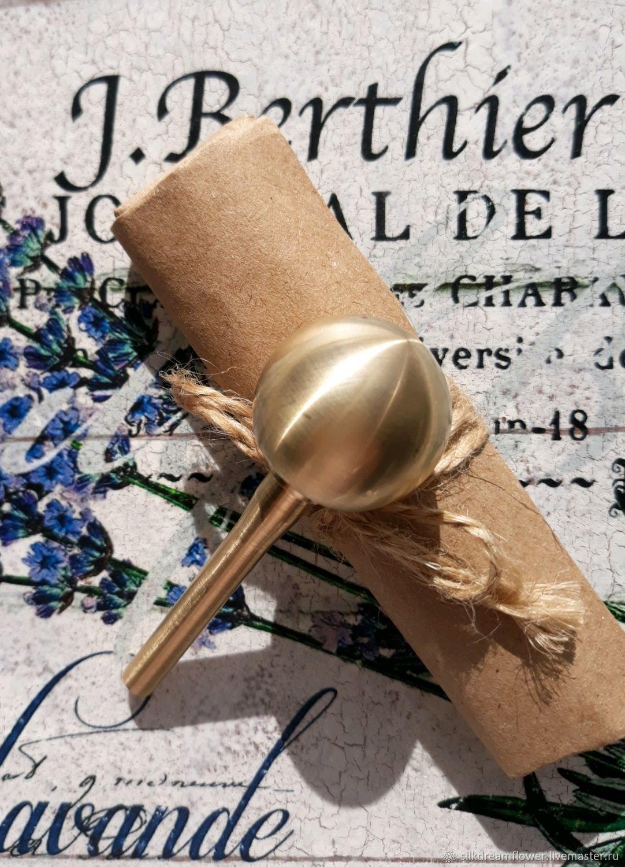 Круглая булька для цветов 25мм, насадка для цветоделия, для шелка, Инструменты для украшений, Ижевск,  Фото №1