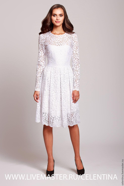 Платье белое коктейльное купить москва