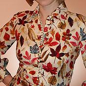 """Одежда ручной работы. Ярмарка Мастеров - ручная работа Платье """"Осенние листья"""". Handmade."""
