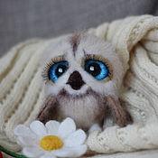 Куклы и игрушки handmade. Livemaster - original item Author felted toy sovushka baby Sofia. Handmade.