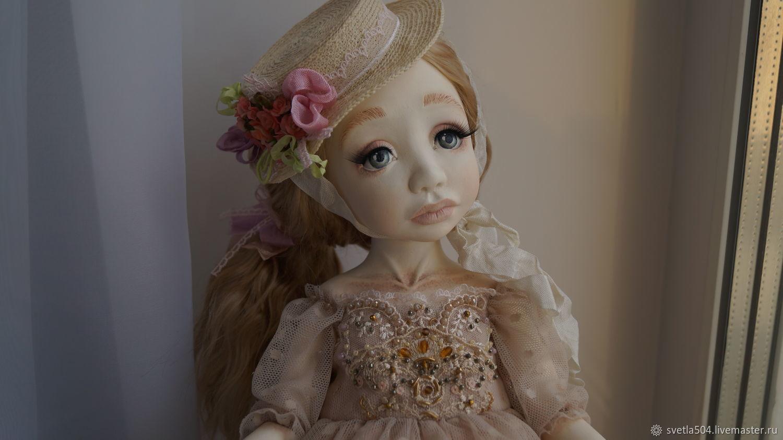 Будуарная кукла Адель, Шарнирная кукла, Саратов,  Фото №1