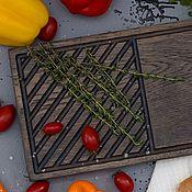 Для дома и интерьера handmade. Livemaster - original item Oak Steak Board. Handmade.