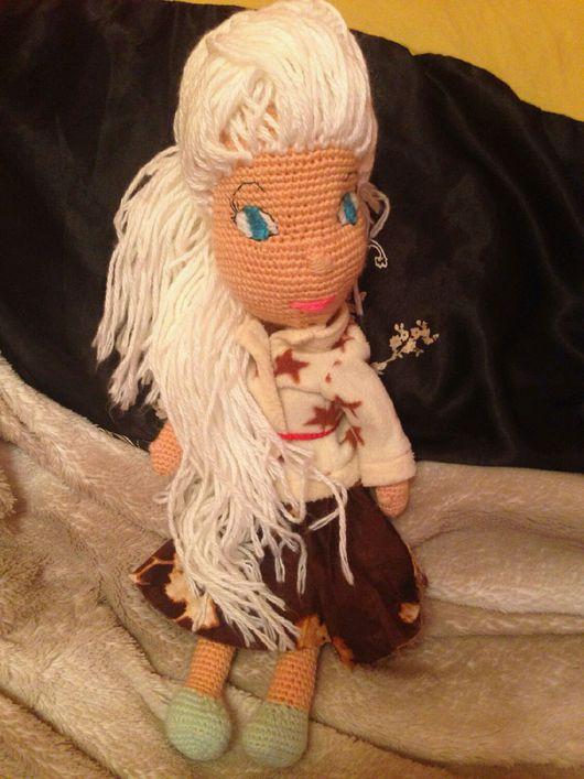 Человечки ручной работы. Ярмарка Мастеров - ручная работа. Купить Вязаная кукла Маша. Handmade. Вязание крючком, вязаная кукла