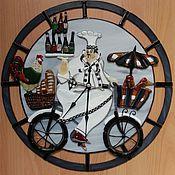 """Для дома и интерьера ручной работы. Ярмарка Мастеров - ручная работа Часы """" Повар"""". Handmade."""