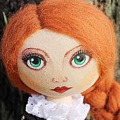 Куклы и игрушки ручной работы. Ярмарка Мастеров - ручная работа Интерьерная кукла Василиса. Handmade.