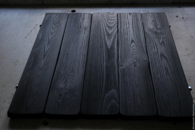 чем красить деревянный фотофон времена