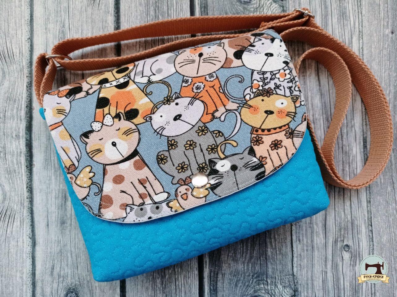 Детская сумка с котами, Сумки для детей, Санкт-Петербург,  Фото №1