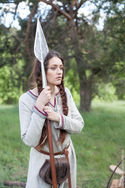 Женские платья в стиле викингов