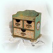 Для дома и интерьера handmade. Livemaster - original item Mini-komodik