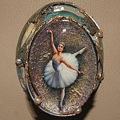 """Для дома и интерьера ручной работы. Ярмарка Мастеров - ручная работа Шкатулка """"Балерина"""". Handmade."""