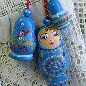 Сумки и аксессуары handmade. Livemaster - original item Keychain Matryoshka. Handmade.