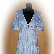 Одежда handmade. Livemaster - original item Beach linen tunic