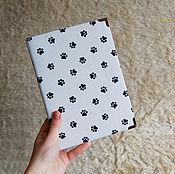 Канцелярские товары ручной работы. Ярмарка Мастеров - ручная работа Блокнот с черными и белыми листами. Handmade.