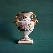 Винтаж ручной работы. Ярмарка Мастеров - ручная работа Антикварная редкая фарфоровая ваза Испания. Handmade.
