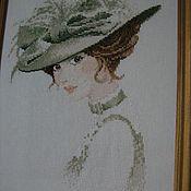 Картины и панно ручной работы. Ярмарка Мастеров - ручная работа женнский портрет. Handmade.