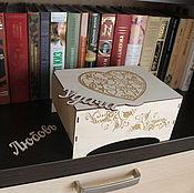 Шкатулки ручной работы. Ярмарка Мастеров - ручная работа Шкатулка хранить украшения коробка персональный подарок маме подруге. Handmade.