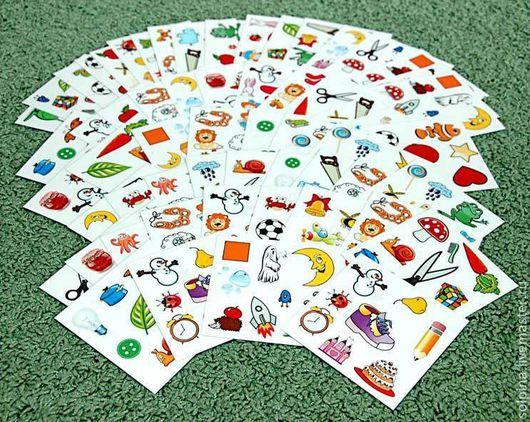 """Развивающие игрушки ручной работы. Ярмарка Мастеров - ручная работа. Купить Развивающая игра """"Соображалка"""". Handmade. Развивающая игрушка, карты"""