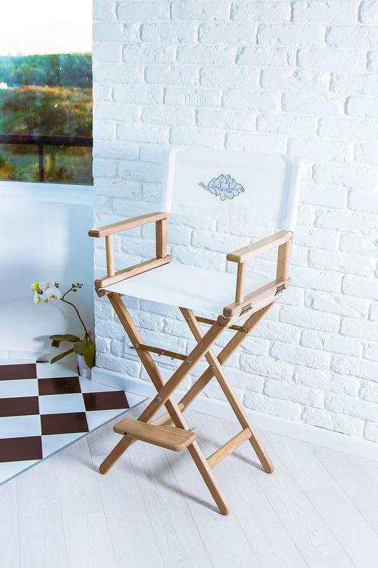 Мебель ручной работы. Ярмарка Мастеров - ручная работа. Купить Режиссерское кресло - белое облако. Handmade. Белый, Мебель, loft