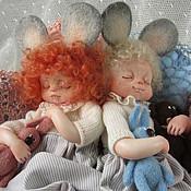 """Куклы и игрушки ручной работы. Ярмарка Мастеров - ручная работа """"Мышата"""". Handmade."""