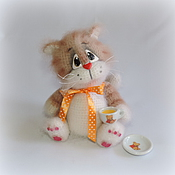 Куклы и игрушки ручной работы. Ярмарка Мастеров - ручная работа Котенок Изюмчик. Handmade.