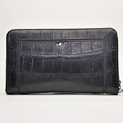 Сумки и аксессуары handmade. Livemaster - original item Men`s crocodile leather clutch, designer model.. Handmade.