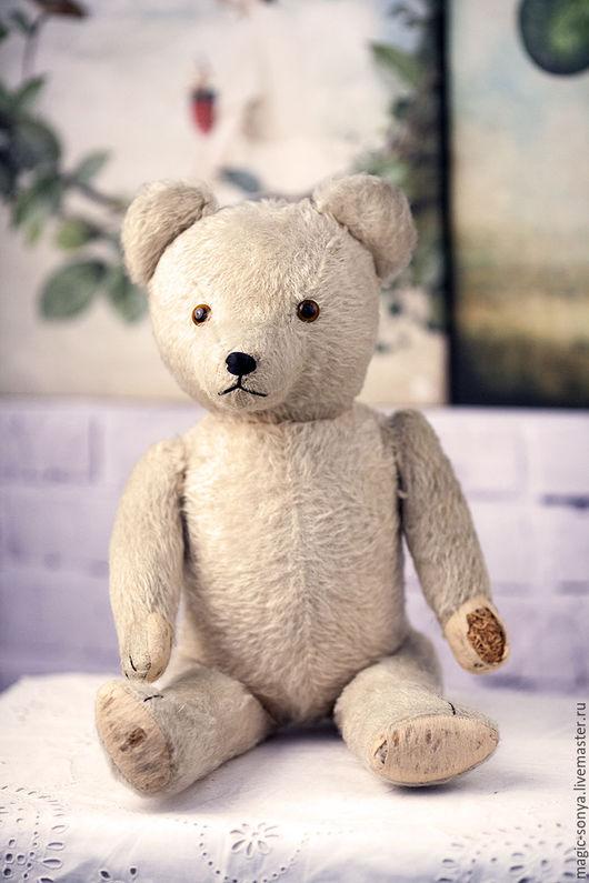 Винтажные куклы и игрушки. Ярмарка Мастеров - ручная работа. Купить Винтажный коллекционный медведь Тедди (Великобритания, 60-70-е). Handmade.