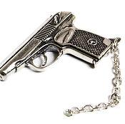 """Брелок ручной работы. Ярмарка Мастеров - ручная работа Брелок """"Пистолет"""". Handmade."""