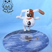 """Куклы и игрушки ручной работы. Ярмарка Мастеров - ручная работа Умная собачка Соня """"Кто сделал лужу?"""". Handmade."""