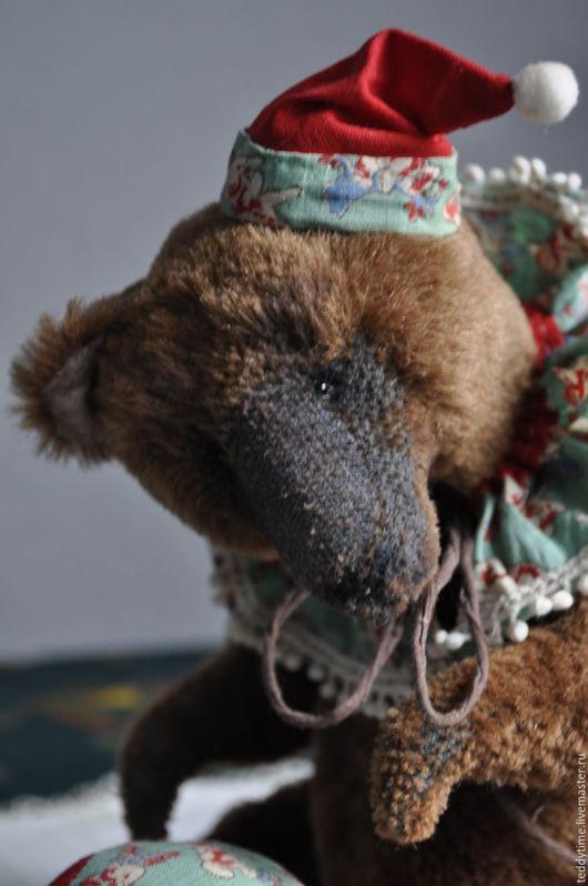 Авторский медведь.Работа Марии Морозовой.