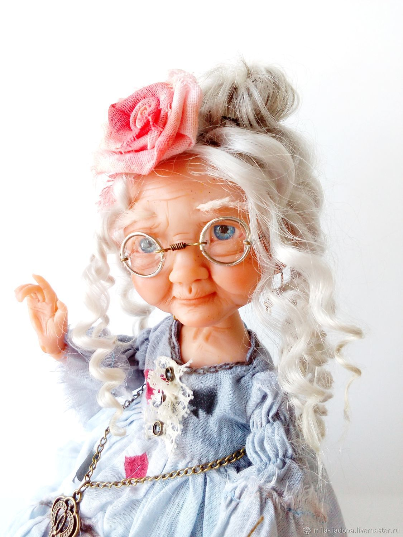 Коллекционная кукла Бабушка Алиса, Куклы и пупсы, Каменск-Уральский,  Фото №1