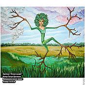 """Картины и панно ручной работы. Ярмарка Мастеров - ручная работа Картина """"Дриада"""". Handmade."""