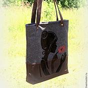 Classic Bag handmade. Livemaster - original item Handbag