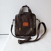 handmade. Livemaster - original item Custom-made leather tablet bag with engraving for Vyacheslav.. Handmade.