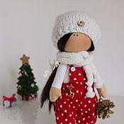 Куклы и игрушки ручной работы. Ярмарка Мастеров - ручная работа Текстильная кукла-малышка Kati. Handmade.