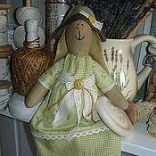Куклы и игрушки ручной работы. Ярмарка Мастеров - ручная работа Вариации на тему Оливковая зайка. Handmade.