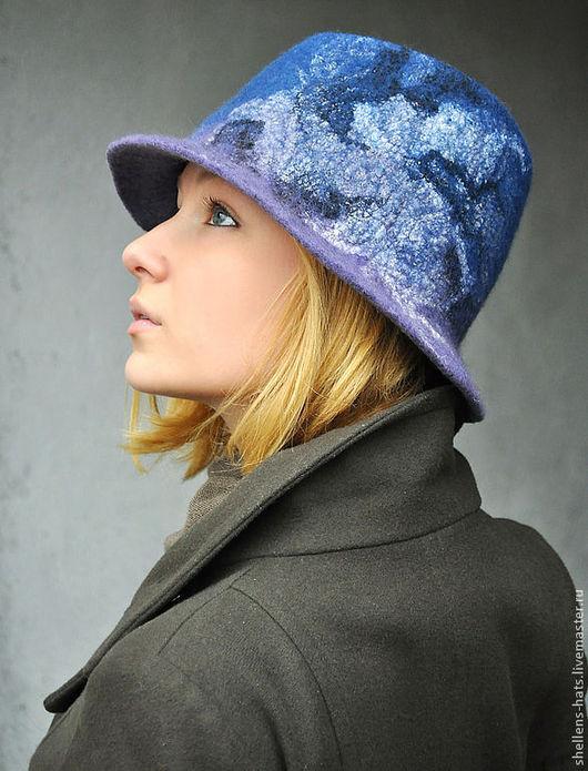 """Шляпы ручной работы. Ярмарка Мастеров - ручная работа. Купить Шляпка """"Estonia"""". Handmade. Шляпа, эстония, шляпа с полями, мороз"""