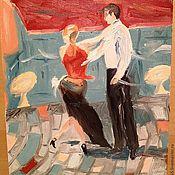 """Картины и панно ручной работы. Ярмарка Мастеров - ручная работа Картина """"Уличный танец"""". Handmade."""
