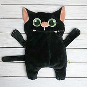 Мягкие игрушки ручной работы. Ярмарка Мастеров - ручная работа Игрушка-органайзер кот-Бегемот. Handmade.