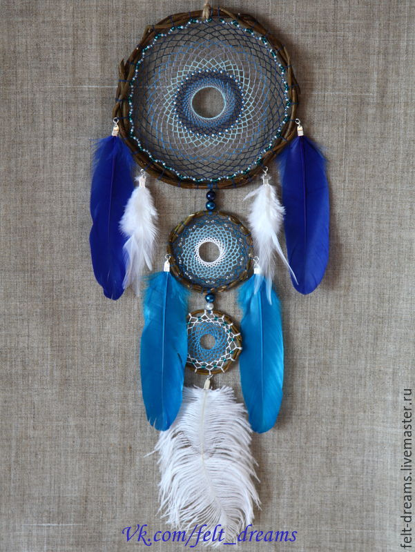 Dreamcatcher 'Anil' (from Sanskrit – the God of wind), Dream catchers, Magnitogorsk,  Фото №1