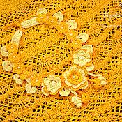 """Одежда ручной работы. Ярмарка Мастеров - ручная работа Вязаная крючком юбка """"Солнечная"""". Handmade."""