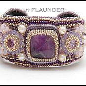"""Украшения ручной работы. Ярмарка Мастеров - ручная работа Браслет """" Purple princess"""" от FLAUNDER.. Handmade."""