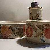 Посуда ручной работы. Ярмарка Мастеров - ручная работа Фруктовое лето. Handmade.