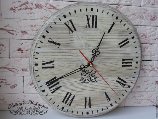 """Часы для дома ручной работы. Ярмарка Мастеров - ручная работа. Купить Часы настенные """"Черно-белые"""". Handmade. Часы настенные"""
